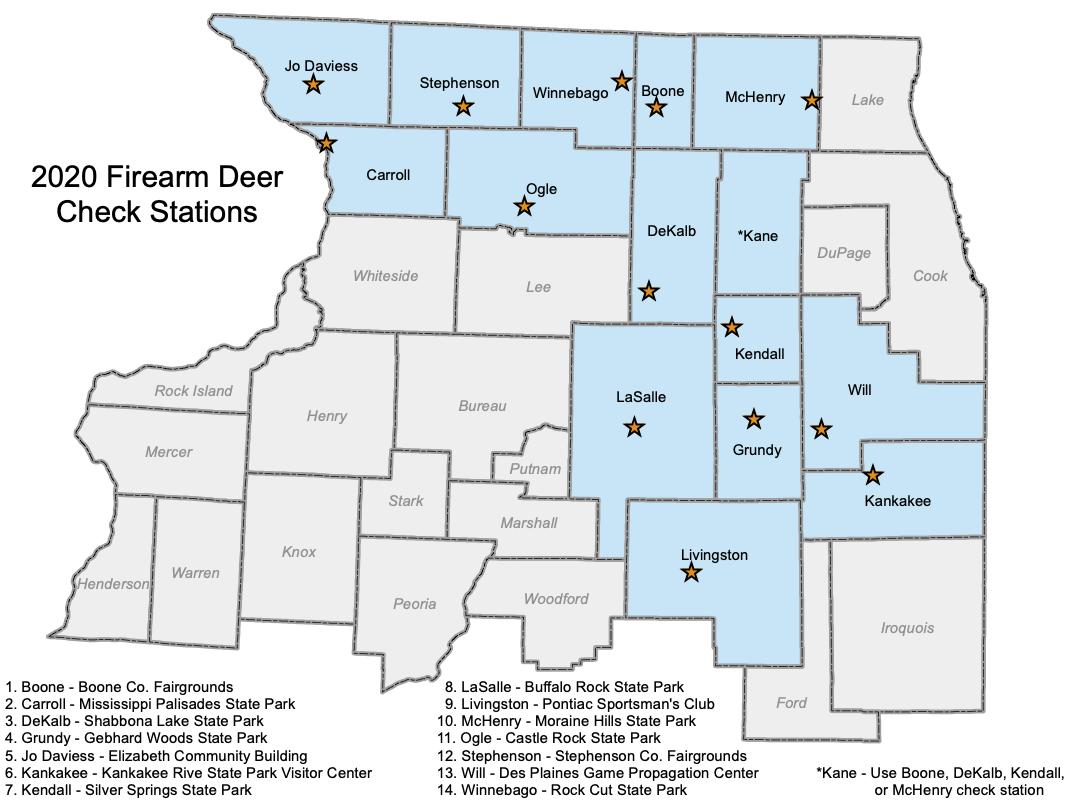 Firearm Deer Check Stations