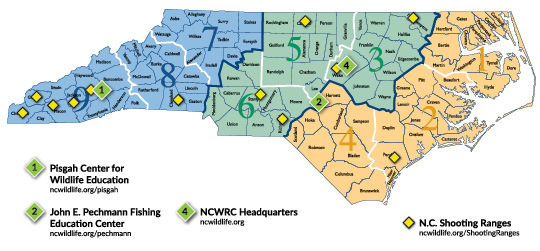 Education Centers Map