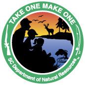 Take one make one logo