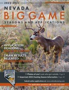 Nevada Big Game Seasons & Applications