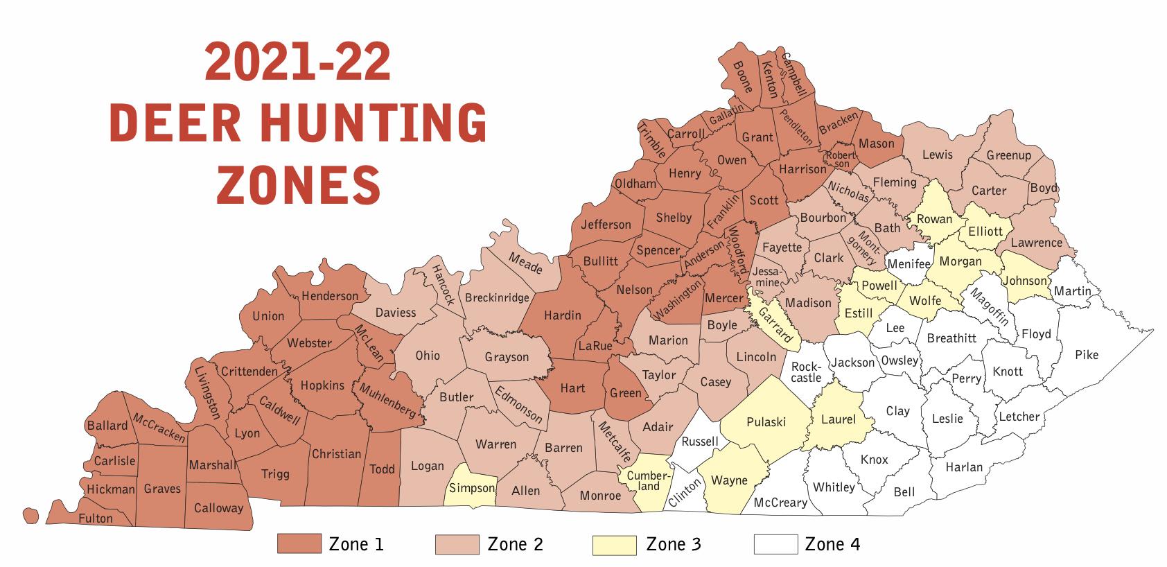 Deer Hunting Zones