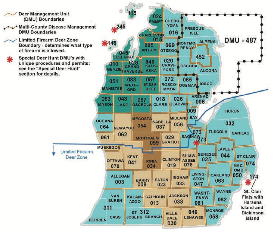 Lower Peninsula Antler Point Restrictions
