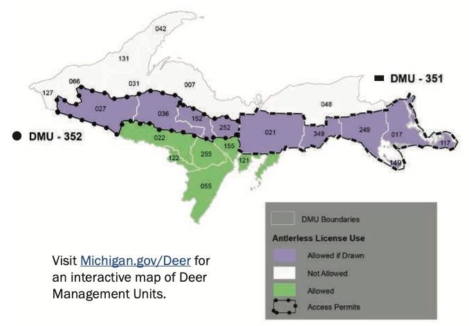 Upper Peninsula Deer Hunting