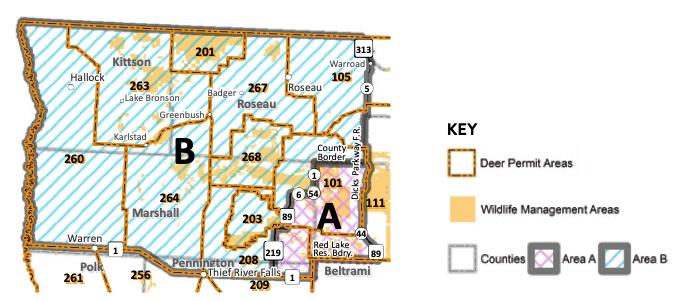 Northwest Minnesota wildlife management area regulations