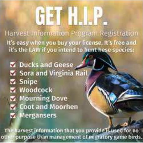 Harvest Information Program Registration