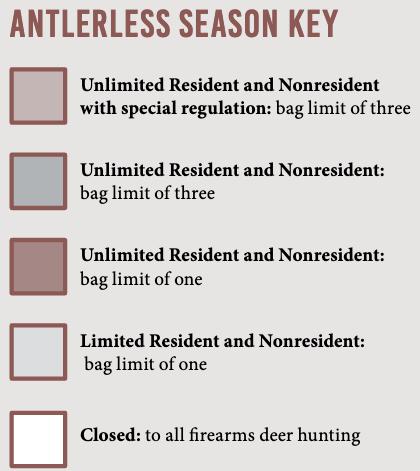 Antlerless Season Key