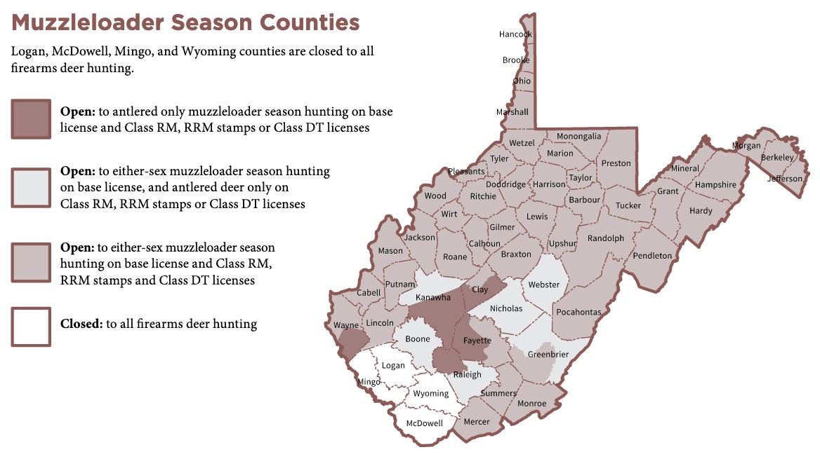 Muzzleloader Season Counties